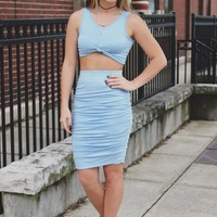 Stolen Glances Two-Piece Dress