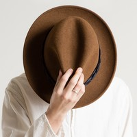 JOINERY - Rust Wool Felt Hat by The Hill-Side - MEN