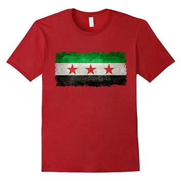 Vintage Syrian Independence Flag T-Shirt