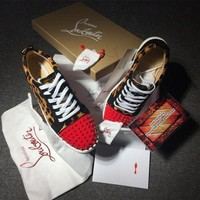 DCCK2 Cl Christian Louboutin Low Style #2080 Sneakers Fashion Shoes