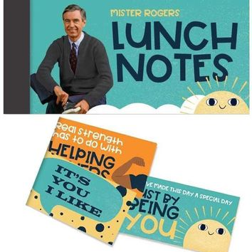 Mister Rogers Encouragement Lunch Notes