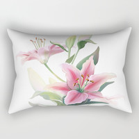 Lilium Rectangular Pillow by printapix