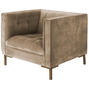 Odin I Velvet Club Chair