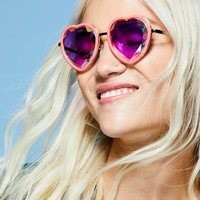 Free People Sweet Heart Kaleidoscope Glasses