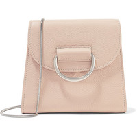 Little Liffner - D Tiny Box textured-leather shoulder bag