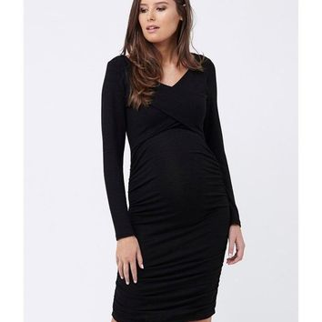 Criss Cross Nursing Easy Dress