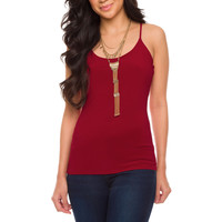 Lynsie Top - Burgundy