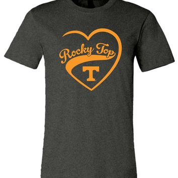 Official NCAA University of Tennessee Volunteers, Knoxville Vols UT UTK Women's Rocky Top Unisex T-Shirt - SC25tv