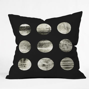 Elisabeth Fredriksson Moons Throw Pillow