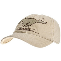 Ford - Mens Ford - Mustang Signature Adjustable Baseball Cap Tan
