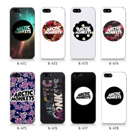 Arctic monkeys phone case, logo collection case iPhone 5 5S case, iPhone 4 4S case, Free shipping N471-N478