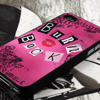 burn book design  for iPhone 4 case, iPhone 4s case, iPhone 5 case, samsung galaxy S3 and samsung galaxy S4 case