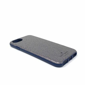 Kate Spade New York Protective Case for iPhone 7 & iPhone 6 - Multi Glitter French Navy