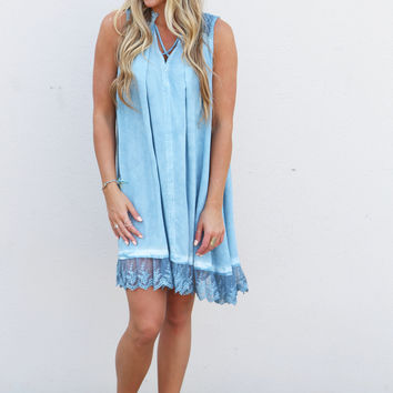 All Dolled Up Dress {Blue}