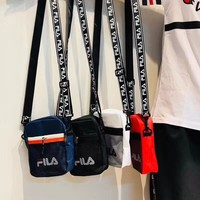 FILA Canvas Shoulder Bag Crossbody Satchel