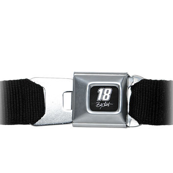 Brushed Silver NASCAR 18 BOBBY LABONTE Seat Belt Buckle