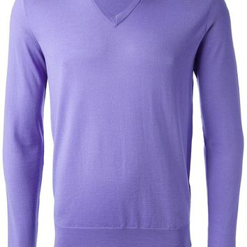 Ralph Lauren Black v-neck sweater