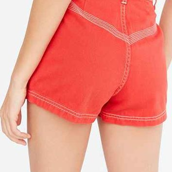 BDG Camp High-Rise Short - Urban Outfitters