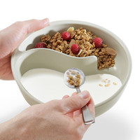 Obol, the Never-Soggy Cereal Bowl at Brookstone?Buy Now!