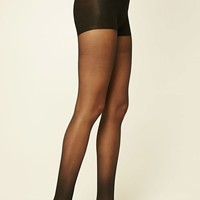 Semi-Sheer Tights