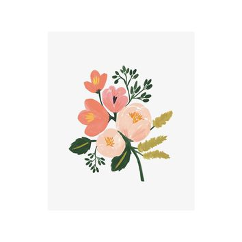 Rose Botanical Art Print by RIFLE PAPER Co.   Made in USA