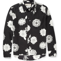 Marni - Printed Silk Shirt | MR PORTER