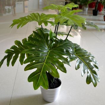 (2pcs) Taro leaves plants, Artificial tree,Artificial plants,home decoration,indoor plants,high simulation