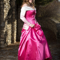 Sleeping  Beauty Adult Costume  - Adjustable and Washable