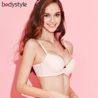 Body Style BE8011442 Medium-thick 3/4 Cup Women Padded Push Up Bra Bralette Underwear
