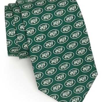 Men's Vineyard Vines New York Jets Print Tie, Size Regular - Green