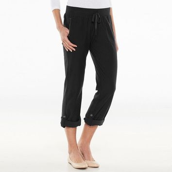 SONOMA life + style Twill Terry Convertible Lounge Pants