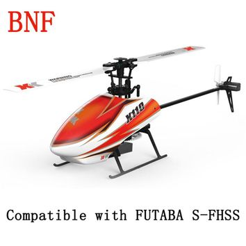 Original XK K110 Blast 6CH Brushless 3D6G System 3D Aerobatics Hovering Flight 6Axis Gyro Toys Gift RC Helicopter BNF