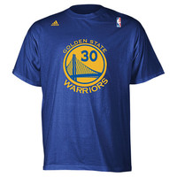 Men's adidas Golden State Warriors NBA Stephen Curry Name and Number T-Shirt