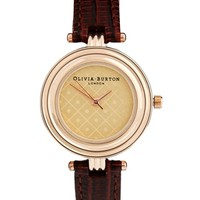 Olivia Burton Brown Modern Vintage Watch