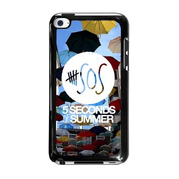 5 SECONDS OF SUMMER 4 5SOS iPod Touch 4 Case Cover