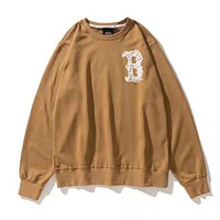 MLB Autumn Winter Fashion Men Women Casual Long Sleeve Sweater Pullover Top