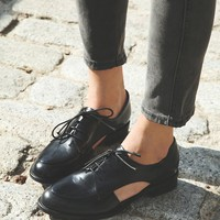 Free People Desoto Cut Out Oxford