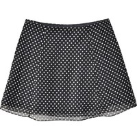 Obesity & Speed Polka Dot Chiffon A-line Mini