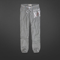 A&F Banded Cropped Sweatpants