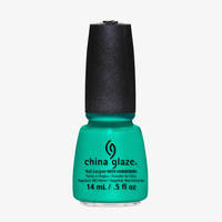 China Glaze Keepin' It Teal Nail Polish (Sunsational Collection)