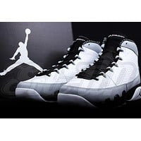Air Jordan 9 white/black Basketball Shoes 41--47