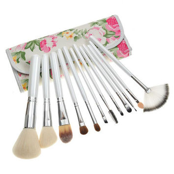 Luxury Soft Hot Sale Rose 12-pcs Make-up Brush = 4831024708