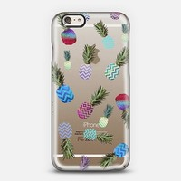 CRAZY PINEAPPLE for iPhone 6 Transparent Case iPhone 6 case by Monika Strigel | Casetify