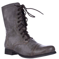 Steve Madden Troopa Combat Boot - Stone