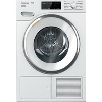 "Miele TWi180WP T1 Series 24"" Stackable Ventless Dryer, Steam - Heat Pump, Glass Door"