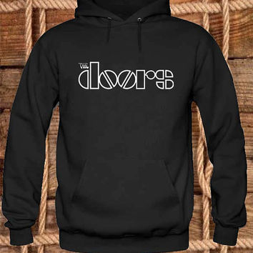 The Doors Hoodies Hoodie Sweatshirt Sweater Shirt black white and beauty variant color Unisex size