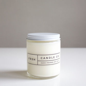 Grapefruit & Eucalyptus Natural Candle