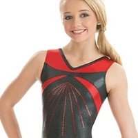 Red Radiance Tank Leotard from GK Elite
