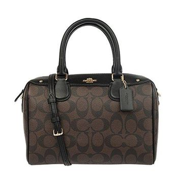 Coach Signature Mini Bennett Crossbody Satchel