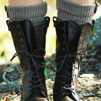 Let's Get Lost Boots: Brown
